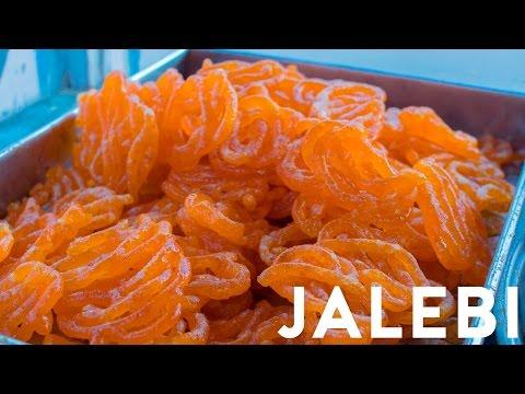 Indian Street Food - Jalebi | Jelabi | Jilbi | Jilipi | Zelapi | Jilebi