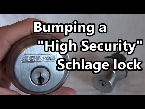 How to bump a Schlage
