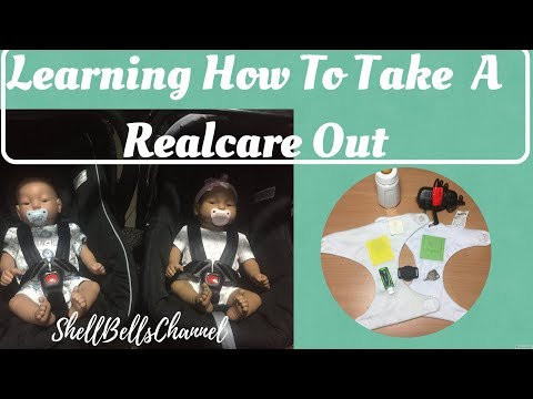 How to take a Realcare baby out in public
