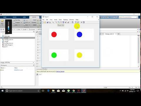 Changing The Color of an Object in MATLAB