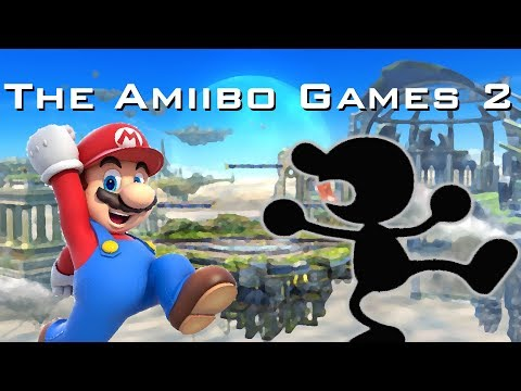 The Amiibo Games 2 - Round 1 Set 2   NotTop10 (Mario) vs. HammerBro (Mr. Game and Watch)
