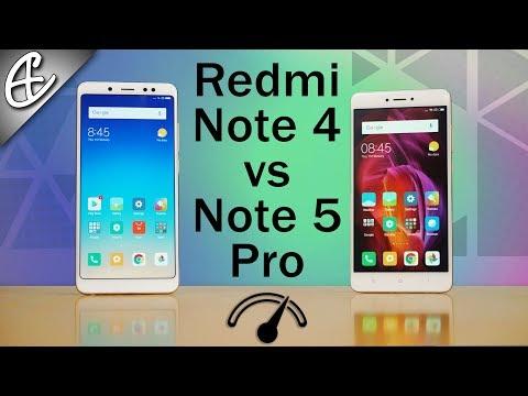 Xiaomi Redmi Note 5 Pro vs Redmi Note 4 Speedtest Comparison!