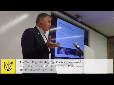 DeVry University Tech Talk: USOC Team USA - Forging High Performance Teams - Techs Purpose