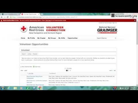 Applying for Volunteer Opportunities