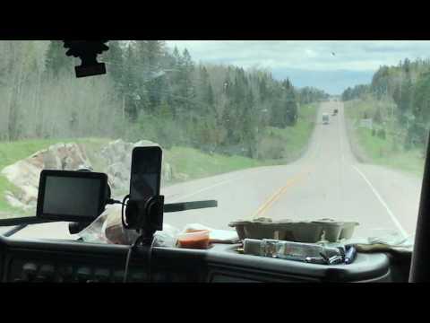 Punjabi Truck Driver Canada