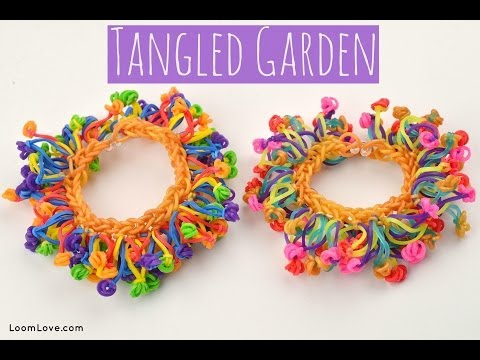How to Make a Tangled Garden Bracelet (Without a Rainbow Loom)