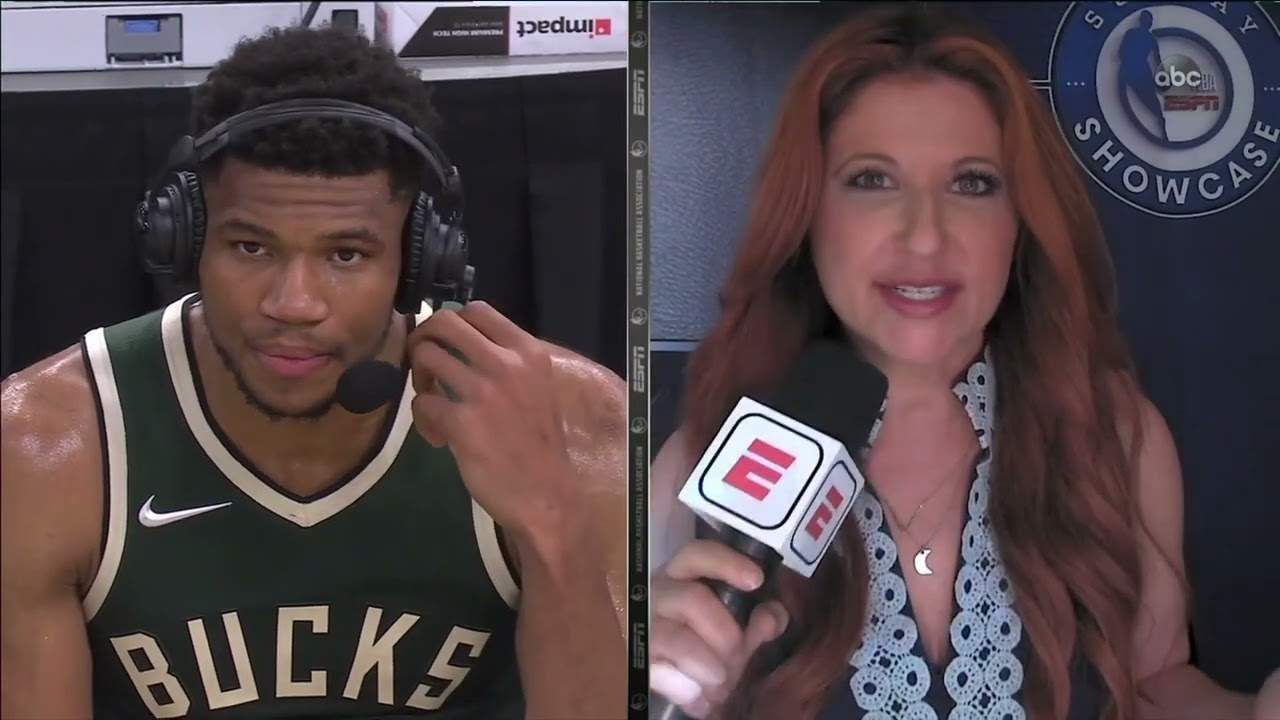 Giannis Antetokounmpo Respects Durant's Game, Postgame Interview - Nets vs Bucks | May 2, 2021