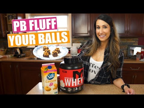 How to Peanut Butter Fluff Your Balls