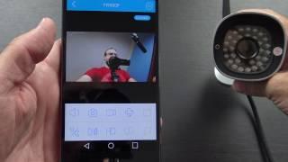 How To Setup Foscam FI9821P P2P Wireless IP Camera - PakVim