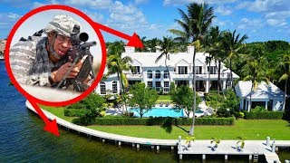 10 Most Heavily Guarded Houses On Earth!