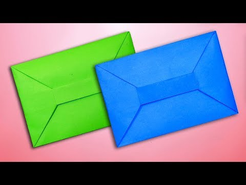 How to Make Super Easy Origami Envelope Without Glue Tape and Scissor