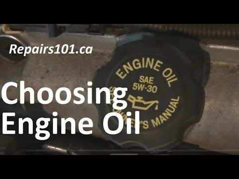 Choosing Engine Oil