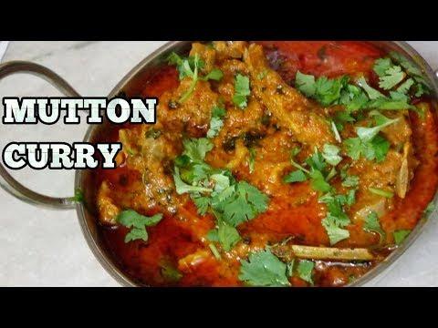 Mutton Curry Recipe-Dahi Gosht Recipe-Pressure Cooker Mutton Curry-Dhaba Style Mutton Curry