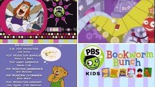 PBS Kids Bookworm Bunch Interstitials (2001)