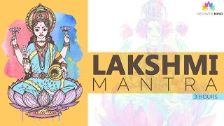 POWERFUL WEALTH MANTRA   Lakshmi Mantra   Mantra Meditation Music