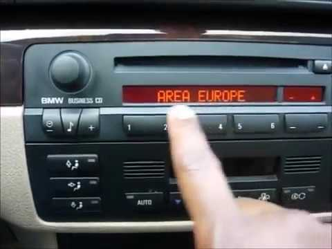 How To Enter BMW Radio Code Key Fast And Easy