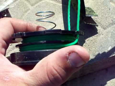 How To: Restring A Weedeater