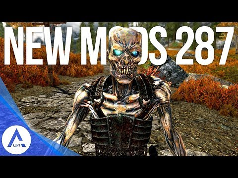 5 Brand New Console Mods 287 - Skyrim Special Edition (PS4/XB1/PC)