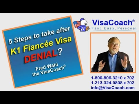 5 Steps to take after K1 Fiance visa denial K115