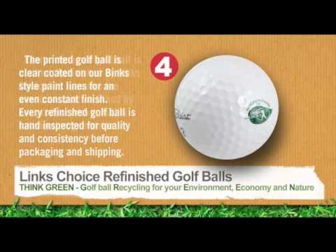 Refinished Golf Balls