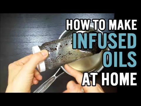 How to Make Infused Body Oil