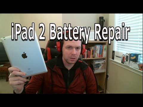 Ipad 2 Battery And Home Button Replacement
