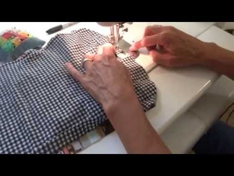 how to make a flannel bib