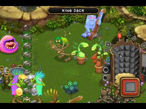[My Singing Monsters] Shrubb/Potbelly Single head solo Plant Island