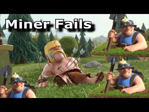 Mass Miner TH10 Fails and Tips for Success   Miners got a Nerf!