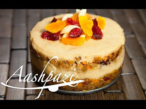 Carrot and Cashews Cake Recipe