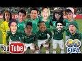 La selección de YouTube Vs Alemania - Luisito Rey ♛
