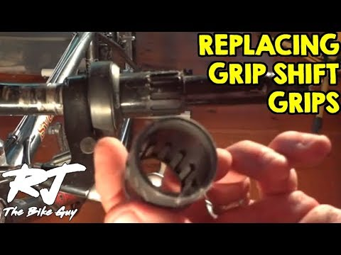 How To Replace Grip Shift Shifter Grips And Covers