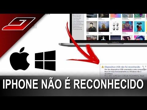 Iphone não é reconhecido no Windows - Como resolver