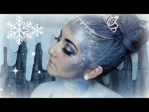 Christmas | Snow Queen Makeup Tutorial