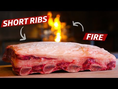 Why You Should Cook Short Ribs on an Open Fire — Prime Time