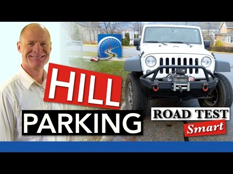 How to Hill Park Up & Downhill With or Without a Curb | Pass Road Test
