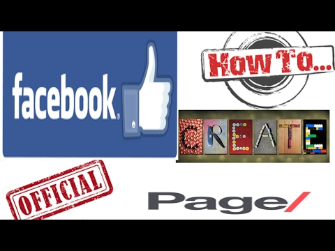How to create own OFFICIAL PAGE on Facebook| 2017™