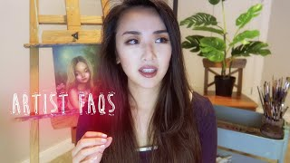 ARTIST FAQs 🎨 Advice for new artists, my insecurities, goals... & more!