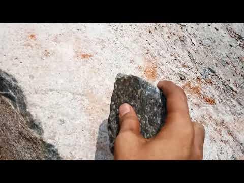 Magic rock at sabli village.