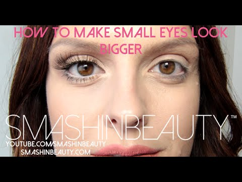 how to make small eyes look bigger (makeup for beginners)