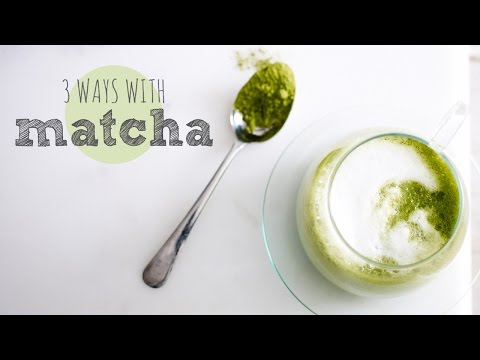 how to drink matcha green tea - 3 ways | teapigs