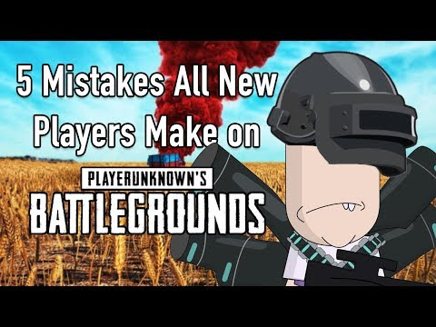5 Mistakes New Players Make on PUBG (Tips and tricks)