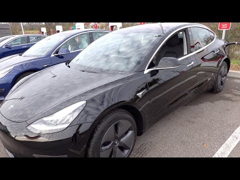 Taking Delivery of the Mid-Range 2018 Tesla Model 3!!!