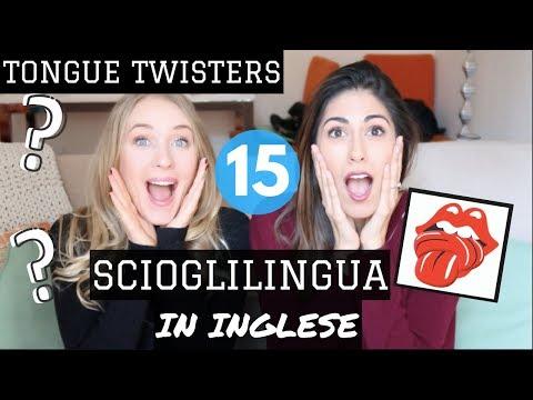 15 SCIOGLILINGUA IN INGLESE (eng sub)