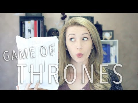 UNBOXING | Game of Thrones Goodies