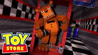 FREDDY FASBEAR STRIKES! - Minecraft Toy Store w/ LittleLizard