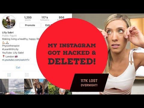 My Instagram has been HACKED!