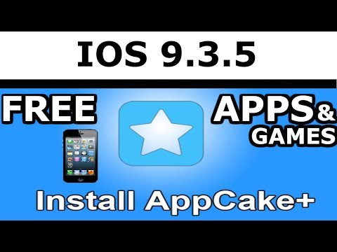 [ IOS 9.3.5 jailbreak ] HOW TO INSTALL APPCAKE THROUGH CYDIA FOR IOS IPAD IPHONE [ FREE GAMES & APPS