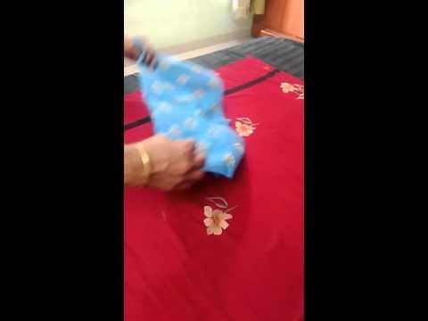 how to make napkin bag,napkin folding,learn to make bag with napkin