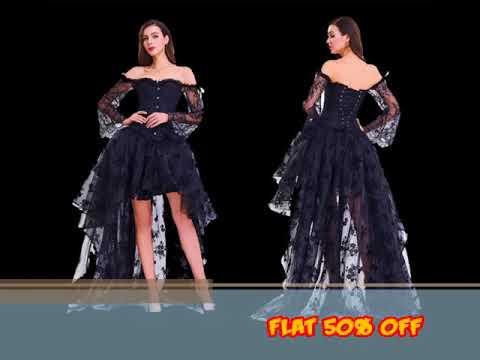 Gothic Steampunk Corset Dress